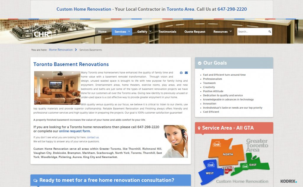 Custom Home Renovation - Your Local Contractor in Toronto