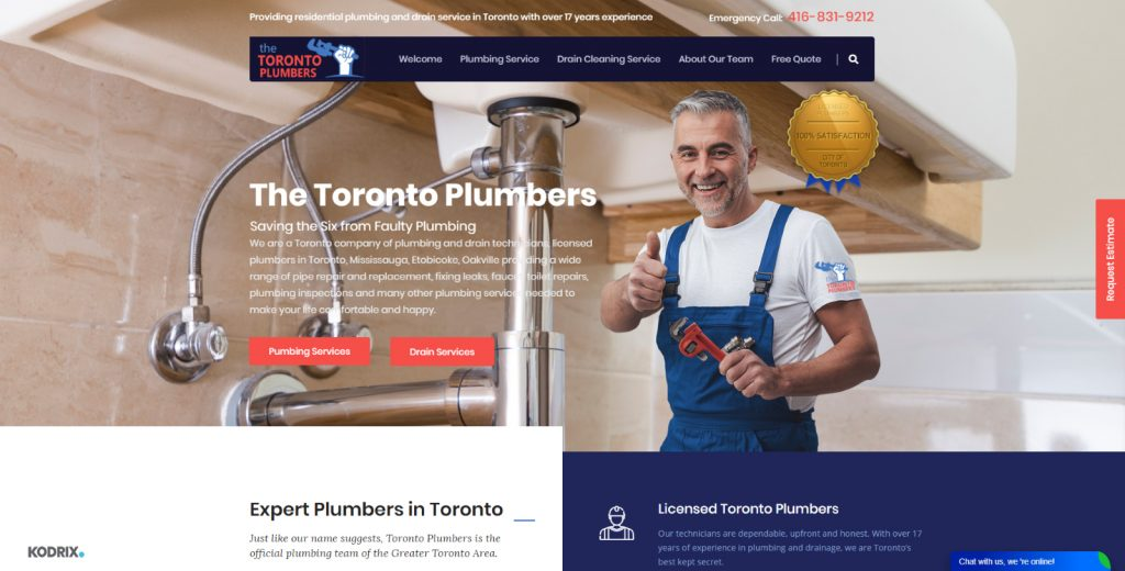 Licensed Toronto Plumbers