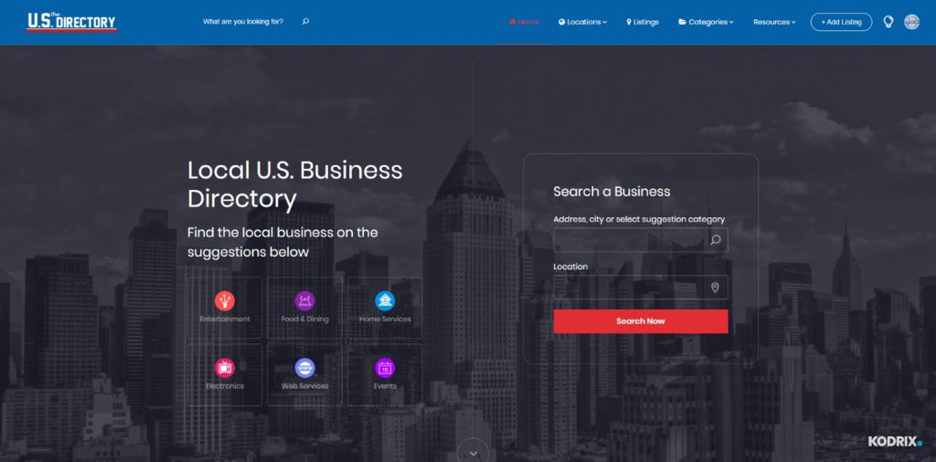 Local U.S. Business Directory